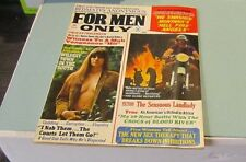 July 1972 For Men Only Adventure Magazine New Orleans Montana Hell Fire Angels