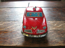 Vintage 1950's Tin Litho Studebaker Fire Chief's Car Works!