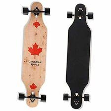 Longboard Skateboard, 41-Inch Downhill Skateboard Through Deck 8-Layer Maple A