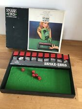 Vintage Retro Game Snake Eyes 1960s Casino Game 1970s Invicta Dice