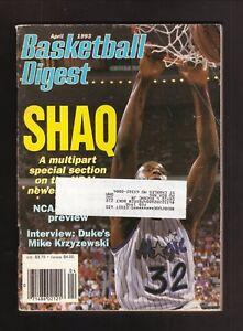 Shaquille O'Neal--Orlando Magic--1993 Basketball Digest