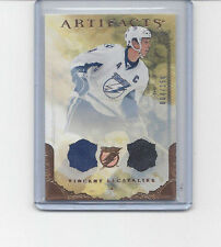 10-11 UD Artifacts Vincent Lecavalier Dual Jersey /150 #4/150 JERSEY NUMBER