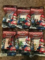 NEW Bundle of 6 Monopoly Gamer Mario Kart Power Pack COMPLETE SET Bowser TOO !!!