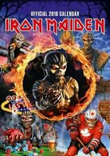 Iron Maiden Official 2018 Calendar - A3 Poster format Danilo Promotions Limited