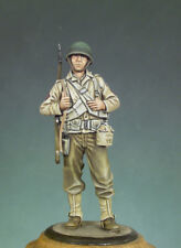 ANDREA MINIATURES S5-F27 - U.S. STAFF SERGEANT 1942 - 54mm WHITE METAL