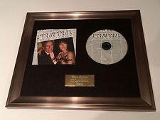 SIGNED/AUTOGRAPHED LADY GAGA & TONY BENNETT - CHEEK TO CHEEK FRAMED CD PRESENTAT