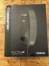 Monster Nokia Purity HD WH-930 Black On Ear Headphones **NEW**