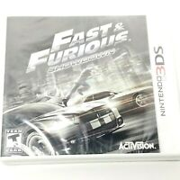 Fast & Furious: Showdown (Nintendo 3DS, 2013) Brand New Sealed Free Shipping