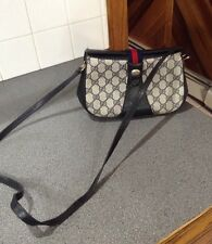 Authentic Gucci G G Monogram Crossbody Vintage Purse