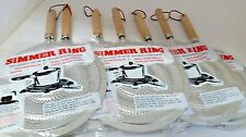 12Pc X(Stovetop SIMMER Ring Aluminum HEAT Diffuser Gas Electric Range Wholesale)