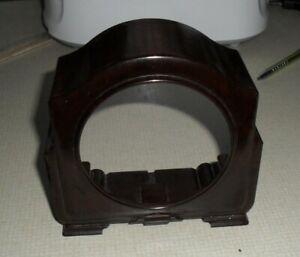 Smiths Vintage Bakelite Mantle Clock Case + Back