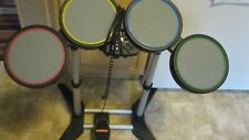 Rock Band  wired Drum Set w/ foot  Pedal  for Sony PlayStation 3/2
