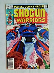 Shogun Warriors Volume 1 No. 7 August 1979 Marvel Comics First Printing NM (9.4)