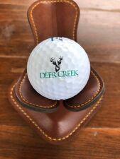 Logo Golf Ball Deer Creek Overland Park, Kansas