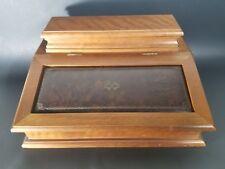 VTG Montgomery Ward Jewelry Box / Wallet Keys & Trinket Caddy by Wondercrafts
