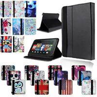 LEATHER STAND COVER CASE For Amazon Fire 7 (5/7/9th) HD8 (5/6/7/8th) HD10(5/7/9)