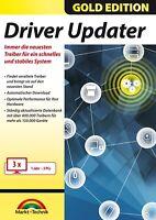Driver Updater Gold Edition - Treiber aktualisieren 3er Lizenz-Download Version