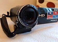 Sony Handycam HDR-CX280E Camcorder schwarz Zubehörpaket Videorekorder Digital HD