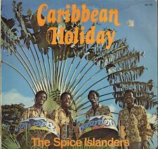 "THE SPICE ISLANDERS ""CARIBBEAN HOLIDAYS"" STEEL BAND ROCKSTEADY LP 1975"