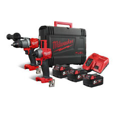 Milwaukee M18FPP2A2-502X Fuel 18V Perceuse Tournevis ¼˝ Hexagonal
