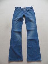 Damen-Bootcut-Jeans in Langgröße (en) Hosengröße W29 niedriger Bundhöhe