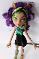Clawdeen Wolf Killer Style Monster High Doll Excellent Used Condition
