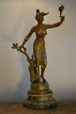 "sculpture SIGNE H FUGERE "" la brise d'automne"" PERIODE ART DECO"