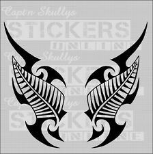 NZ KIWI FERN/TRIBAL DECALS  150x75mm Capt'n Skullys Stickers Online MPN 915P