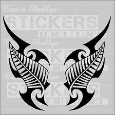 NZ KIWI FERN/TRIBAL DECALS  150x75mm Capt'n Skullys Stickers Online MPN 915P