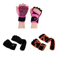 Wrist Wrap Gloves Weight Lifting Training Fitness Gym Workout for Men Women