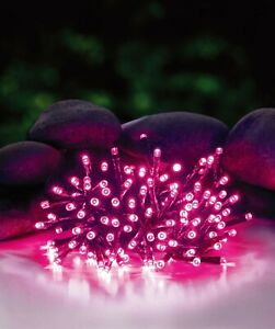 50M 500LED PINK CHASING CHRISTMAS FAIRY LIGHTS WITH 8 FUNCTIONS & MEMORY