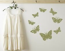 Floral Butterflies - Wall Decal Stickers