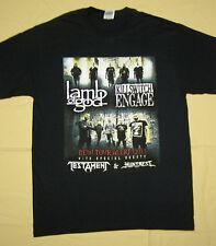 New Tour Alert 2013 Lamb of God Killswitch Engage Concert T-Shirt black size M