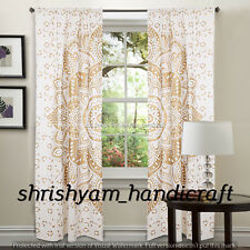 Wall Tapestry Indian Ombre Mandala Boho Decorative Curtains Window Drapery Decor