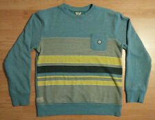 Volcom Men Sweatshirt L Corpo Pullover Surf Delray Long Sleeve Sweater Crewneck