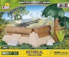 COBI Wacht Post  1939 / 2165 / 60 elem. blocks WWII Small  Army