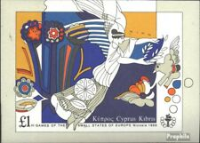 Cyprus block14 (complete issue) unmounted mint / never hinged 1989 Sports Games