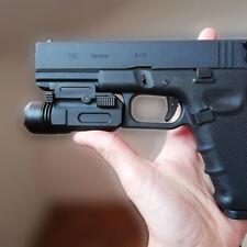 Tactical Gun Flashlight Handgun Torch Light For Glock 17 19 18C Pistol