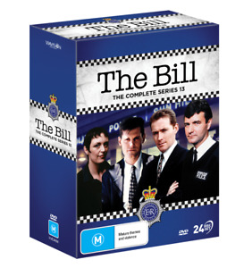 The Bill - Complete Series 13 (DVD, 24 Discs, 2021) New/Sealed