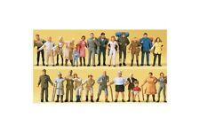 Preiser 14413 HO 1/87 Promeneurs, randonneurs, 24 figurines
