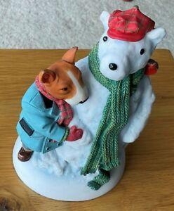 Robert Harrop Doggie People Christmas 2017 Snow Bullie