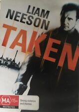 TAKEN - Liam Neeson, Maggie Grace Region 4 DVD