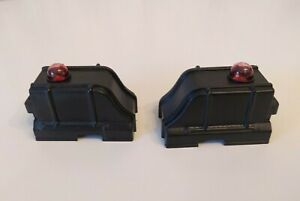 K-LINE K-108 LIGHTED TRACK BUMPERS O/027 Scale  (Set of 2)