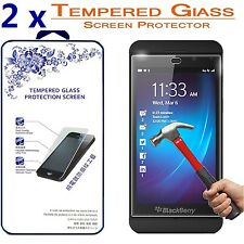 2x For BlackBerry Z10 Ballistic Tempered Glass Screen Protector