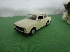 Modellauto Trabant 601-S, Trabbi, Trabi, NO. 8677, DDR, ca. 11 cm cremeweiss