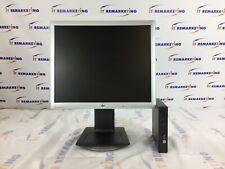 """HP BUNDLE EliteDesk 800G1 USFF i7-4785T 2.2GHz 8GB 500GB & LA1956x 19"""" Monitor"""