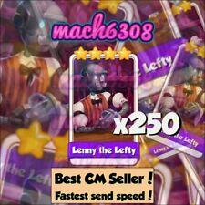 Coin Master Lenny Le Gaucher X250 ( Livraison très Rapide)