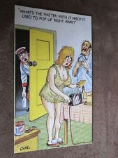 Bamforth comic / seaside humour postcard - Whats the matter with it Fred ?