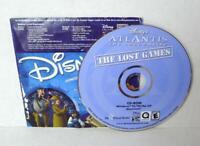 Disney's Atlantis The Lost Empire The Lost Games CD-ROM Windows 95/98 Macintosh